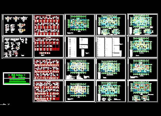 高层住宅结构图 高清图片