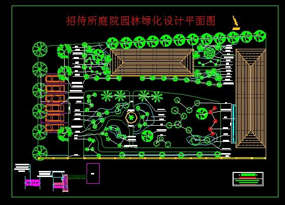 园林绿化设计平面图