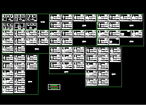 住宅偻配电柜电气原理图