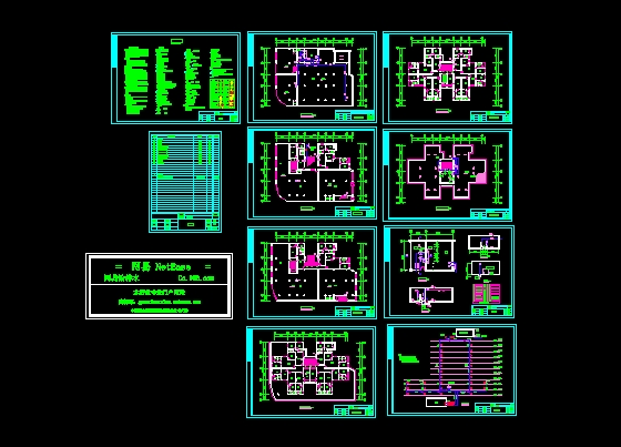 某9层商住楼消火栓系统图_CO蓝图v系统(原网易的替代思考图纸工程土木白图图片