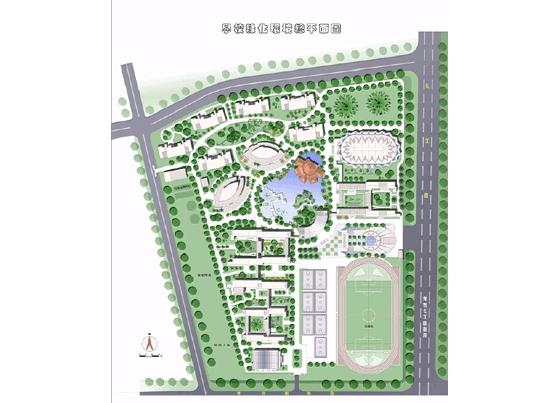 青岛市崂山区实验小学平面图