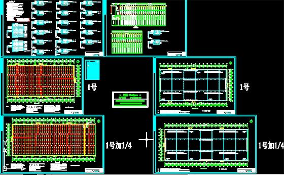 某家具厂钢结构厂房施工图.