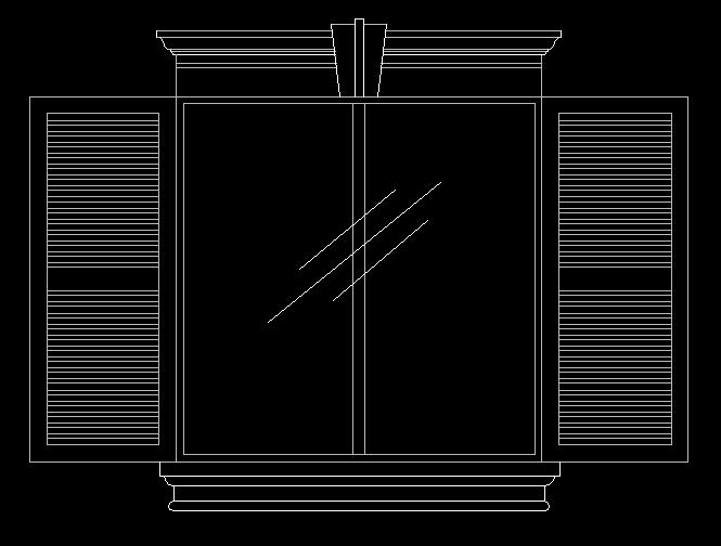 图纸 建筑图纸  壁神构件-窗套   建筑外墙罗马窗线  相关专题:欧式