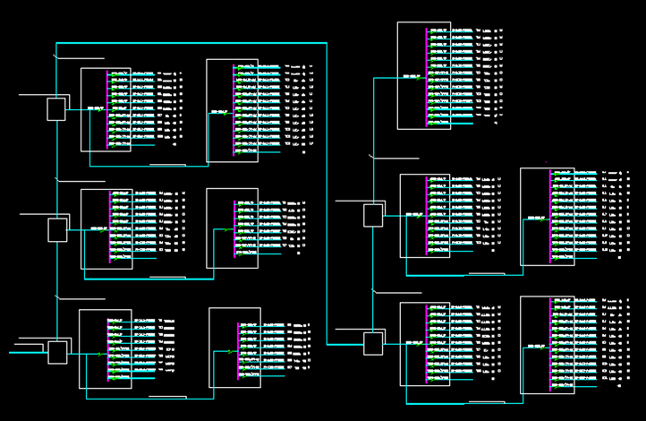 电路系统图 电路系统图图例 电路系统图学习 cad电路系统图 装修电路