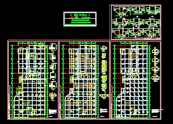 筏板基础设计图纸