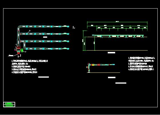 多功能厅空调平剖面图_cad图纸下载-土木在线