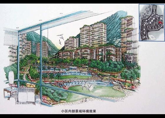 景观小品手绘图园林景观小品手绘图公园景观设计手绘
