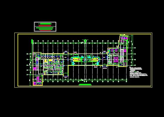 地铁平面建筑设计,不错的图纸,供参考!
