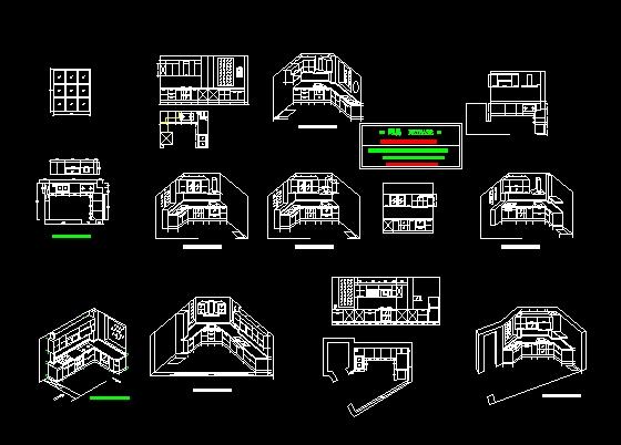 立体厨房建筑设计方案
