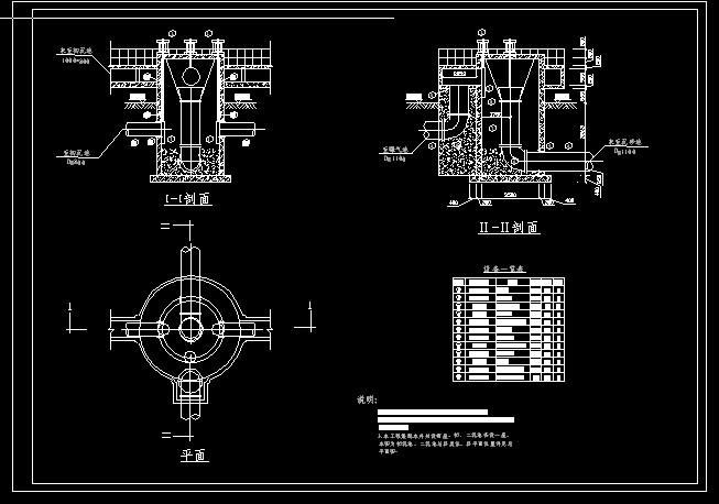 集配水井_co土木设计图纸下载邦元平面在线图片