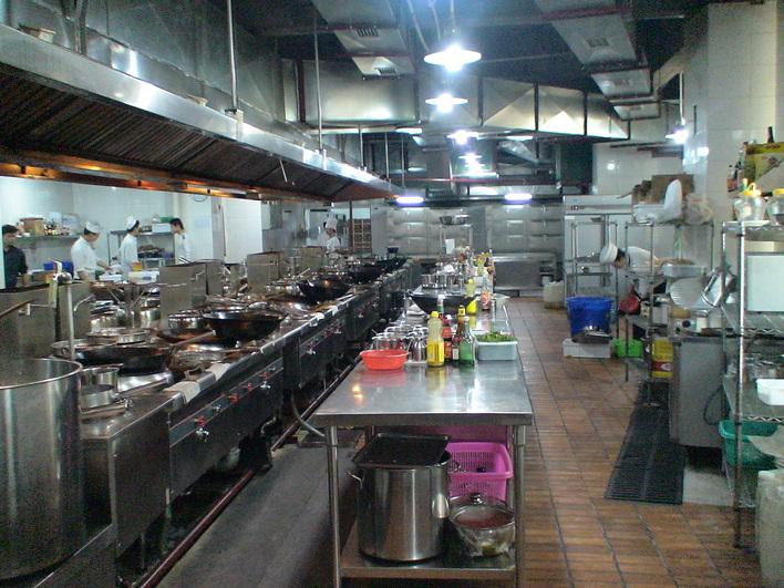 韩国料理厨房设备平面图片