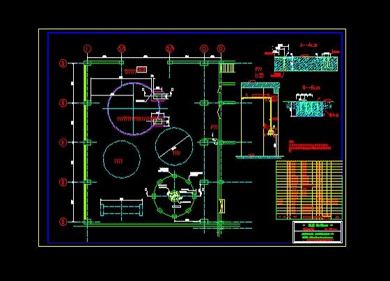 图纸 水利工程设计图 大坝堤防 堤防相关 技术供水及消防供水系统图
