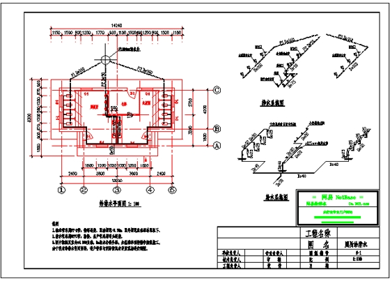 厕所给排水  上传时间:2005-06-22 所属分类:节点详图给水排水