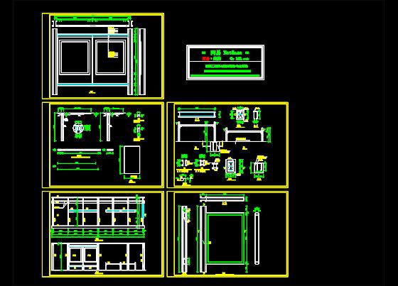 某公交车站结构图
