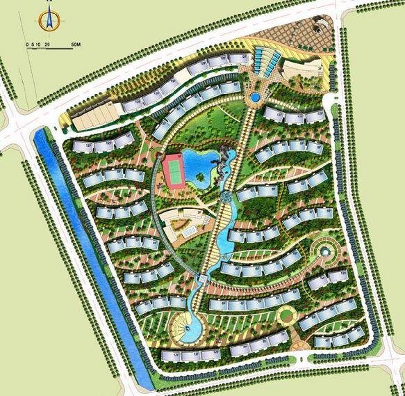 中标的小区规划方案