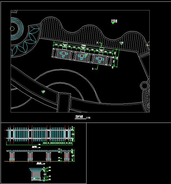 图纸 园林设计图 天裕城花架图纸  (0人评价)|                | 39次