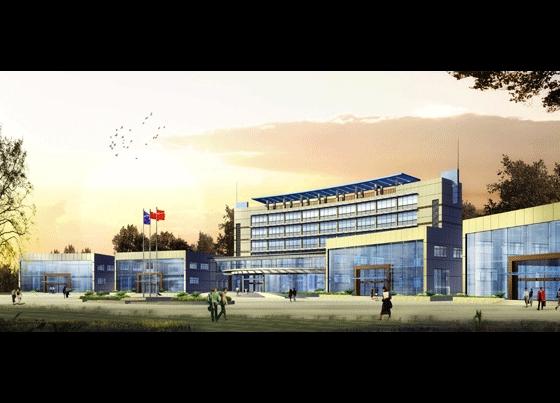 相关专题:办公楼平面效果图 办公楼 效果图 欧式办公楼