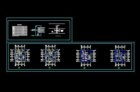 综合布线电气设计施工图(综合布线施工图)  简单电路图   电路系统图