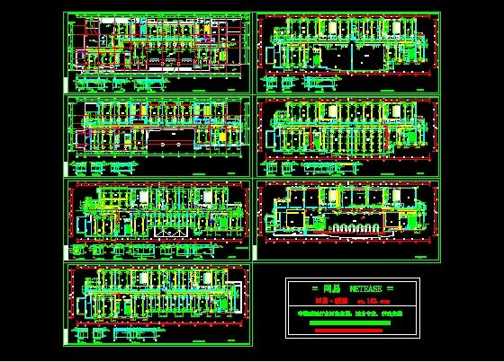 图纸 暖通设计图  户式中央空调(户式中央空调设计)  多联机空调设计