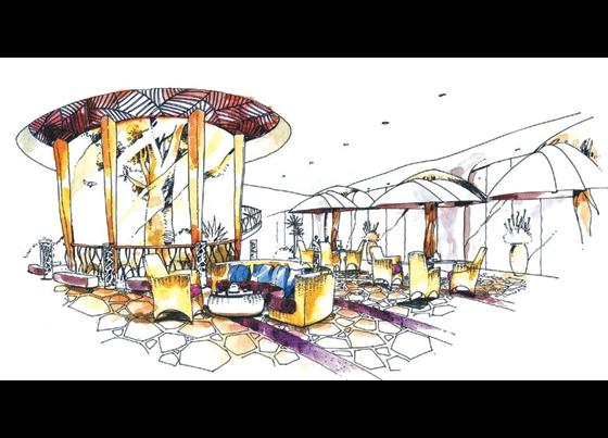 手绘图花坛设计手绘图展馆设计手绘图广场设计手绘图
