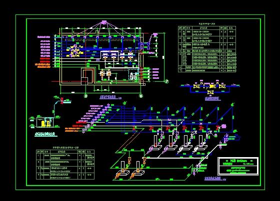消防水泵房系统图 消防水泵房设计 消防水泵房图集 消防水泵房安装