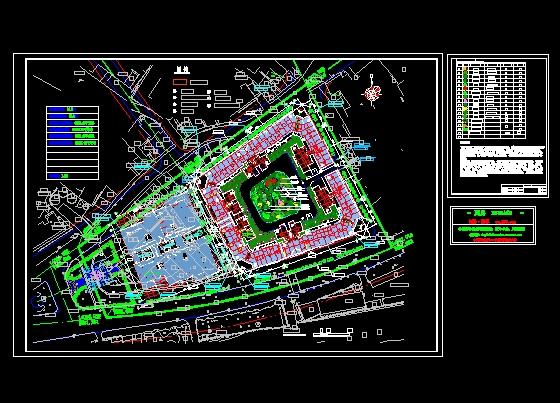小区绿化设计总平面图图片