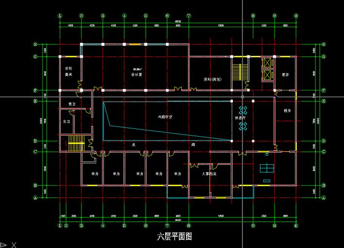 设计院办公楼平面图