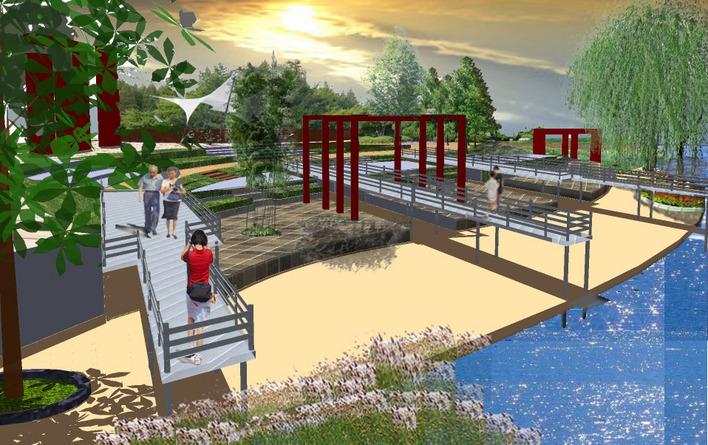 景观建筑小品设计 水景小品设计 校园景观小品设计 小品雕塑设计 公园