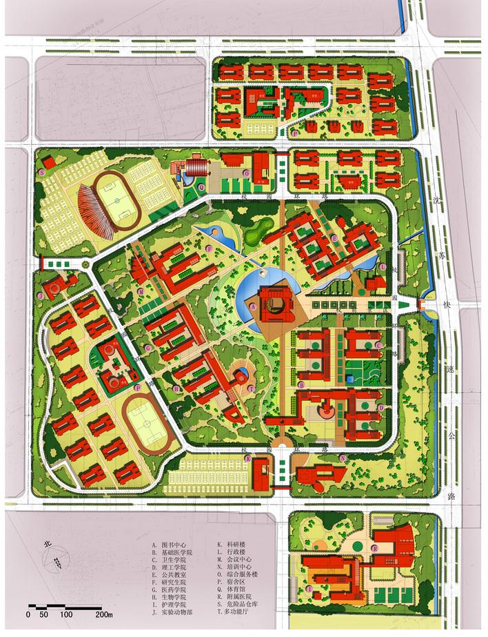 小学校园规划