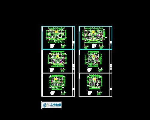 5         某某住宅设计施工图 部分说明:此建筑厨房烟道选用辽2002sj