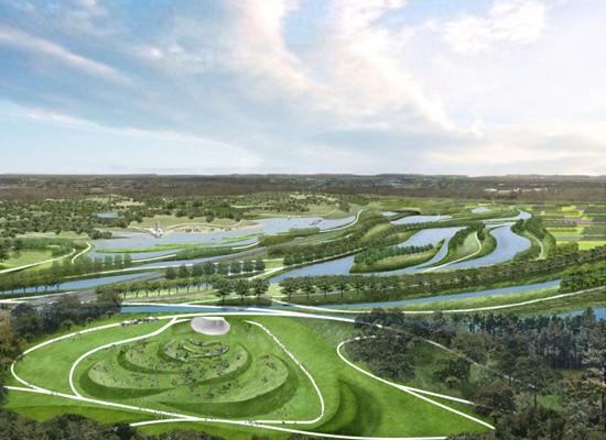 手绘图,实景图)  相关专题:绿地公园设计 公园绿地设计 公园绿地规划