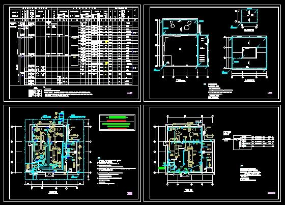 电气图纸电气工业建筑图纸站打印图纸v电气施工图锅炉房动力电气装修六合无绝对建筑图片