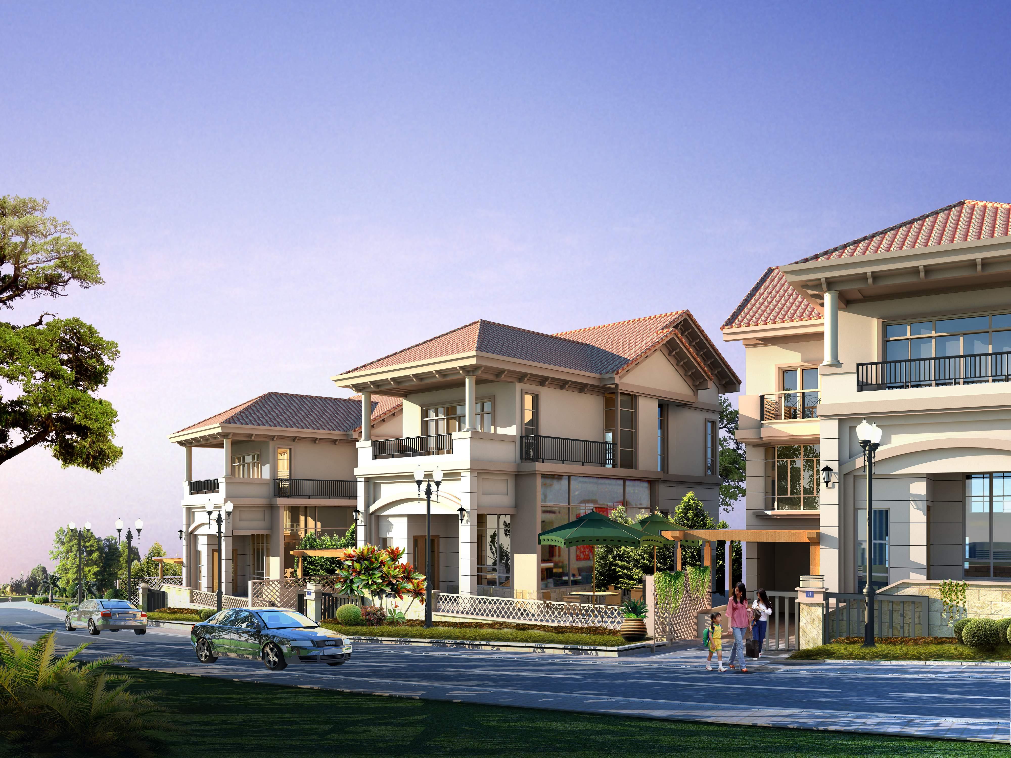 2011新别墅             2011新出私家别墅全套建筑施工图含唯美效果