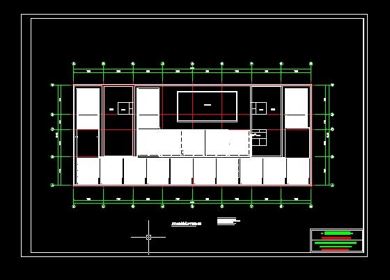 太阳屋顶集热器平面图_cad图纸下载cad的中dote层图图片