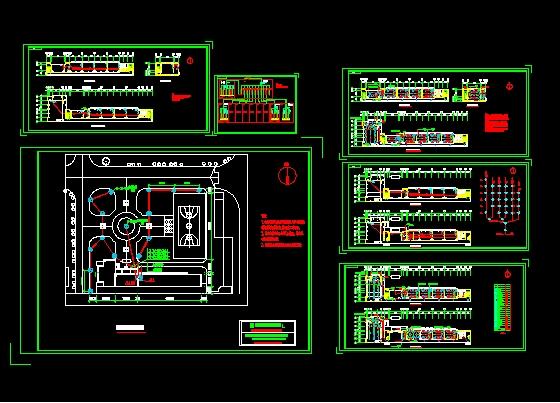 教学楼电气设计图