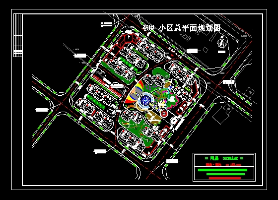 49#小区规划总平面图