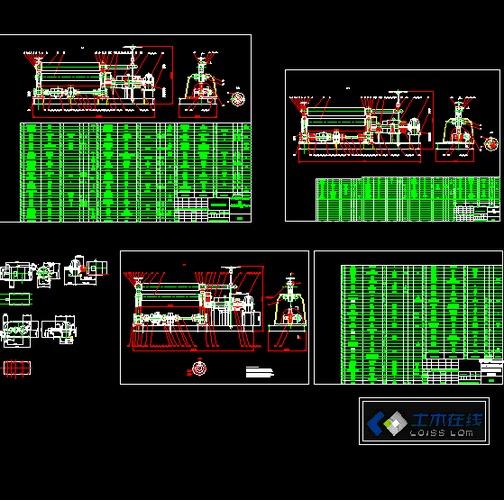 30米通信铁塔图纸