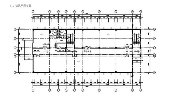 旅馆建筑设计平面图_【建筑平面图】小型旅馆建筑平面图_cad图纸下载_土木在线