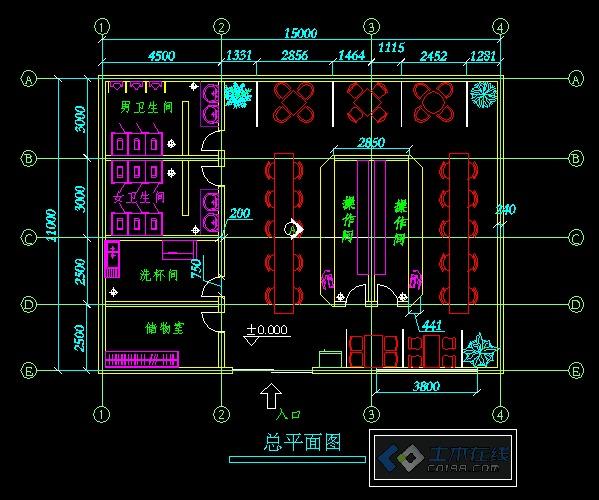 立面图,顶面图,的陈设计布置   相关专题:展厅平面图立面图 别墅平面