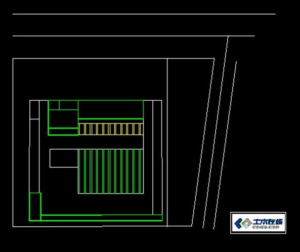 某客运汽车站设计,cad平面图 坡面图 立面图皆有,设计专业