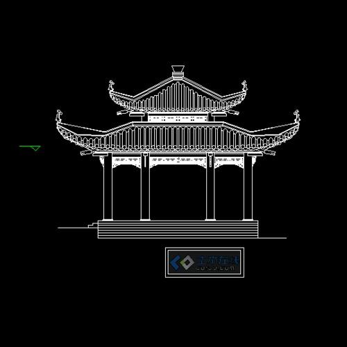 经典的古建亭施工图(可以作为施工直接使用) 古典园林古建景观亭榭