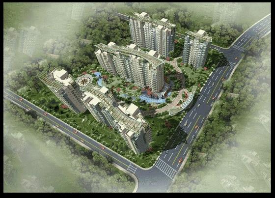 手绘效果图 桥梁景观设计效果图 别墅景观设计效果图 公园景观设计