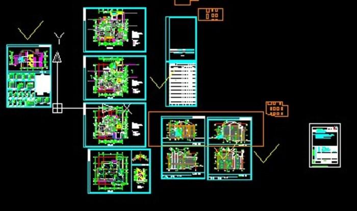 相关专题:小区别墅平面图别墅建筑图山区别墅设计图小区建筑图纸农村