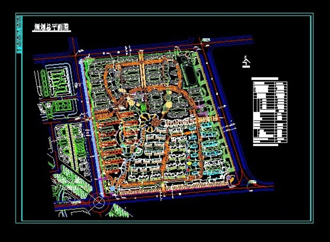 小区规划设计 经典资料 高清图片