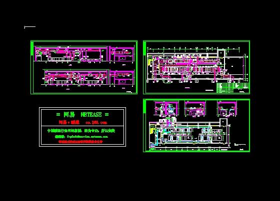 8级净化空调的机房布置图            相关专题:空调机房设计