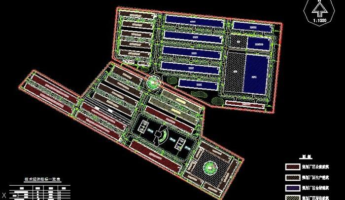 某食品厂厂房规划设计图