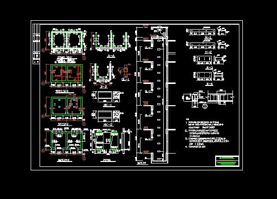 某酒店入口网架设计图纸