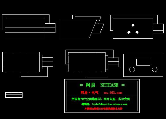 部分监控系统CAD图块_cad图纸下载楼盘cad图图片