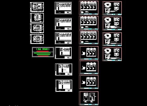 箱式变整套设计图   箱式变压器基础,接地,电气,及布置,尺寸全套设计