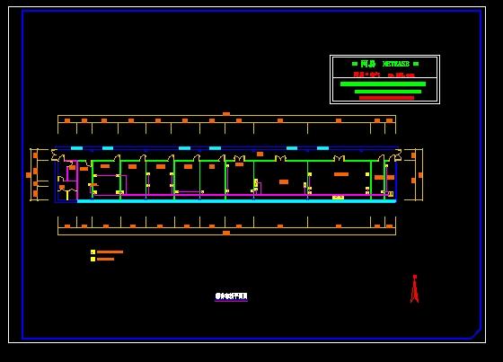 售楼处精装修平面图,强弱电布线图 某小区的综合布线图纸  (1人评价)